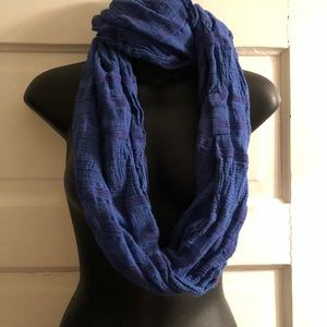 Blue and purple infinity scarf American Eagle